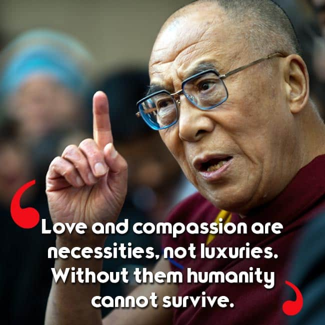 Dalai Lama's Quote About Religion