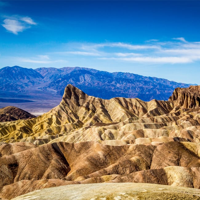 Death Valley in the United States of America