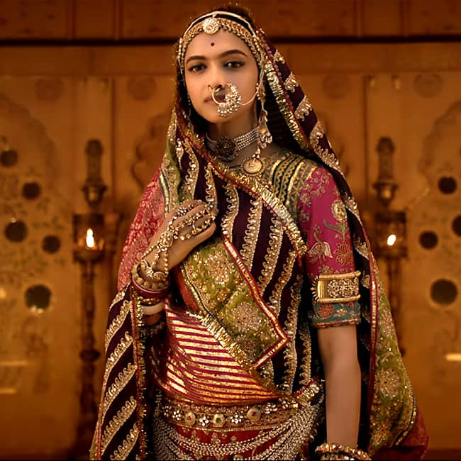 Deepika Padukone in and as Padmavati  Padmavat now