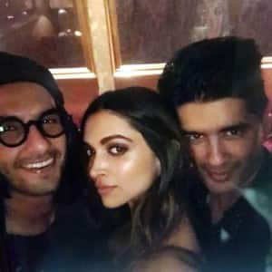 Deepika Padukone celebrates pre-release success of Padmavati; A-listers join her for the bash!