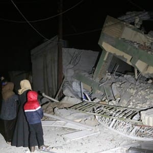 Distressing pics of Iraq earthquake showcasing destruction in Iran