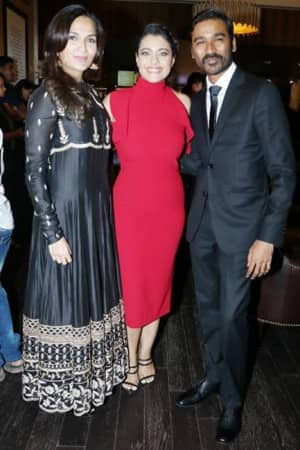 PICS: Kajol spills glamour during the trailer launch of VIP 2 with Dhanush