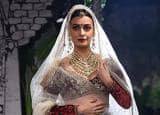 FDCI ICW 2017: Dia Mirza turns a ROYAL bride for Anju Modi!