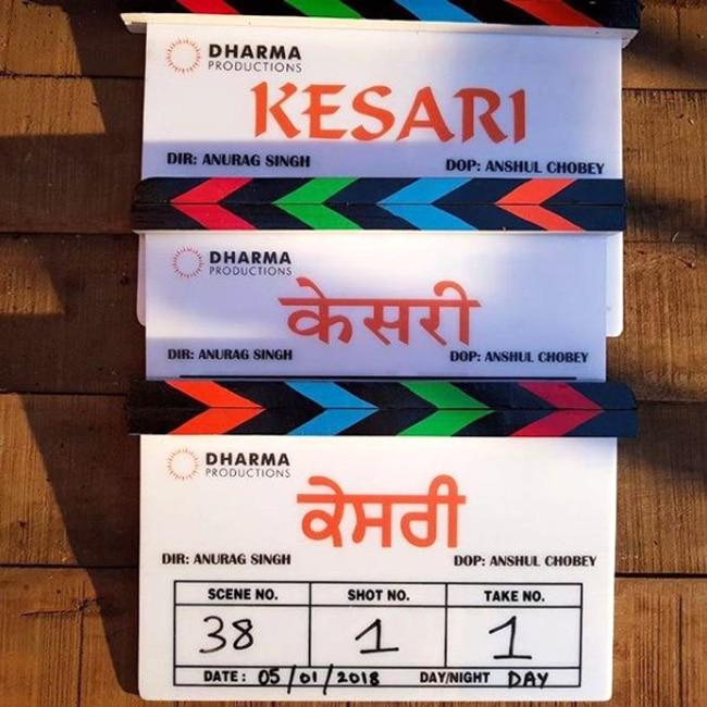Director   s clap for Kesari movie