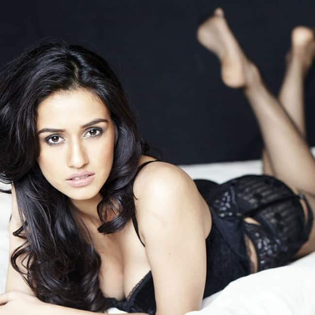 Disha Patani looks black hot in this picture