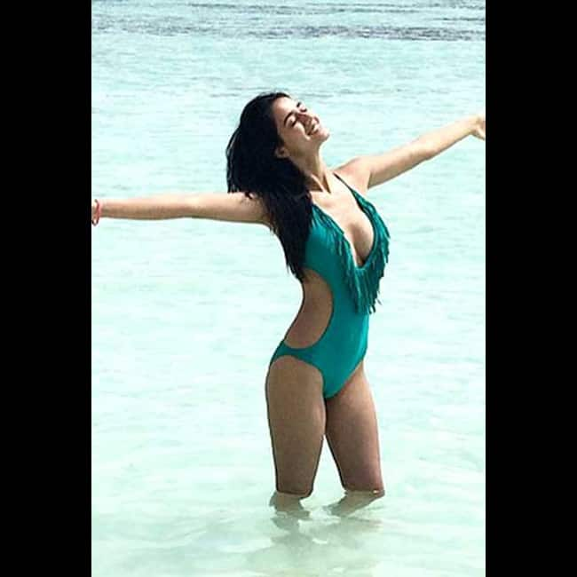 Disha Patani raises heat in Bikini Stunning