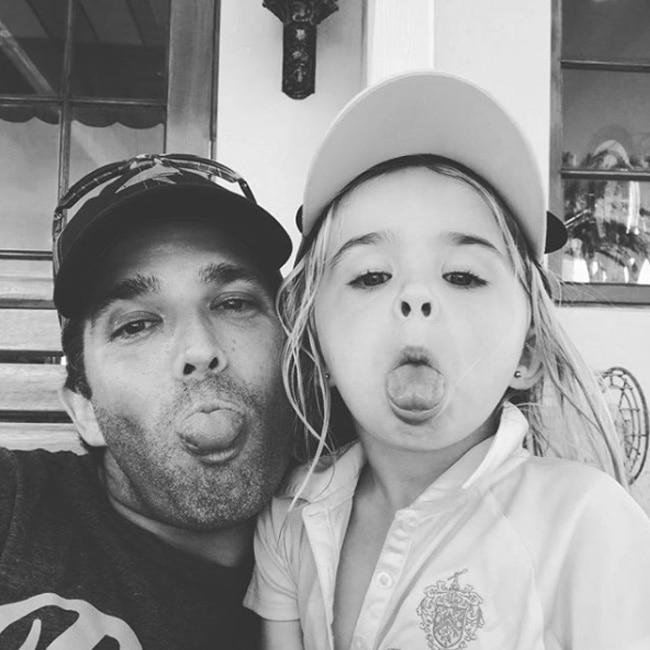 Donald Trump Junior   s fun selfie with daughter