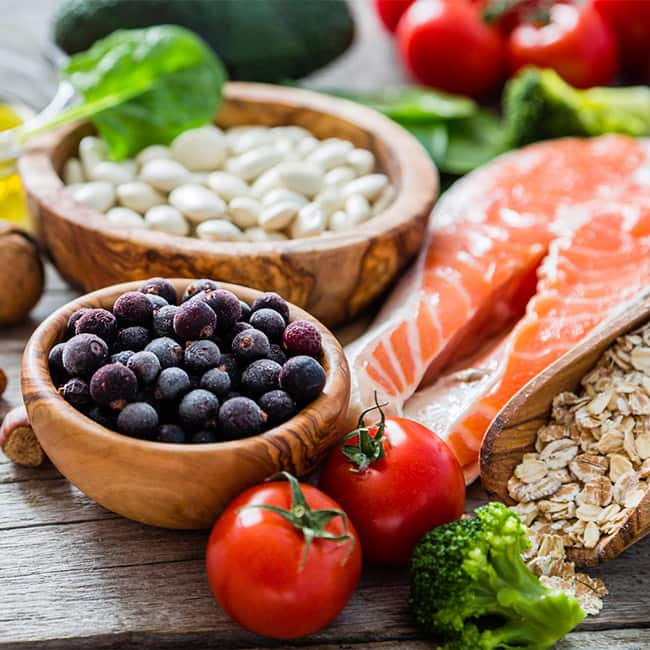 Eat a diet which include all essential nutrients