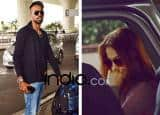 IN PICS: Elli Avaram and Hardik Pandya's airport PDA, unveil their secret relationship