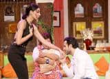 'Azhar' stars in a fun mood on the sets of Comedy Nights Live during promotion