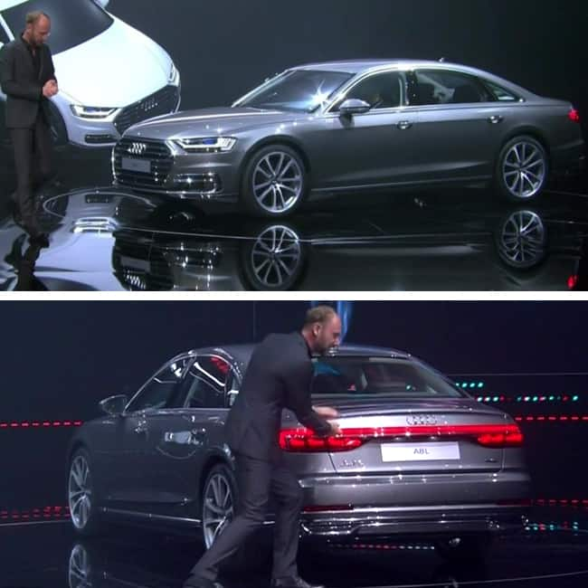 Engine variants and engine capacity of Audi A8