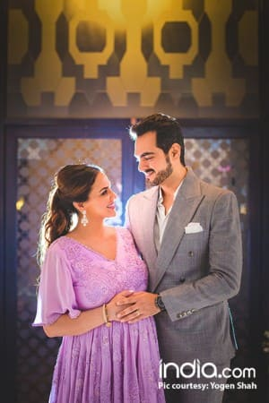 Inside pictures of Esha Deol's surprise baby shower by sister Ahana Deol