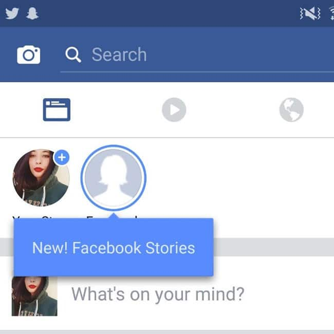 Facebook story feature has been launched for Android and iOS users