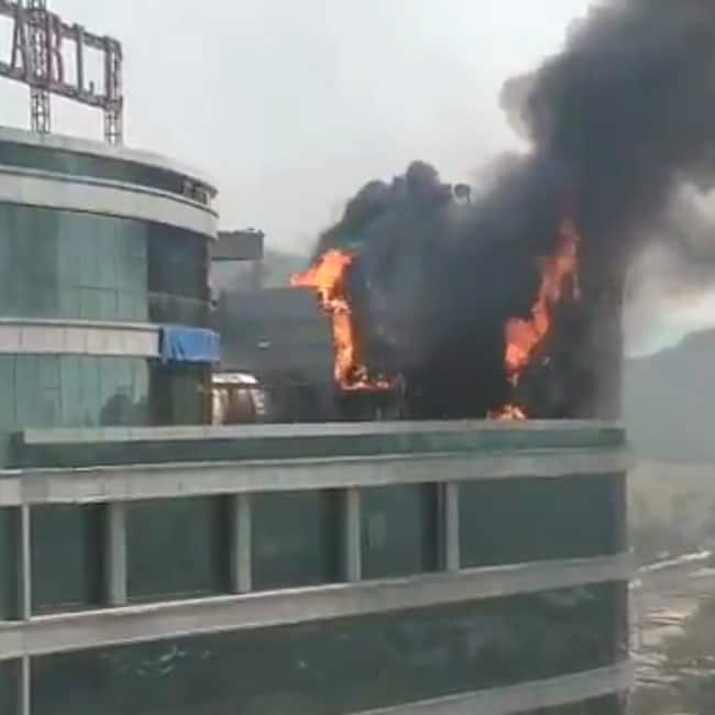 Fire breaks out at Reliable Tech Park in Navi Mumbai
