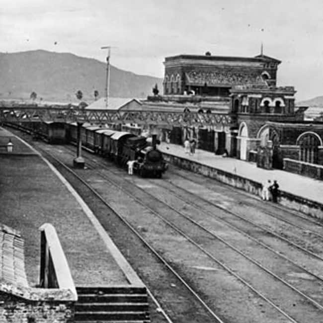 First journey of Indian Railways