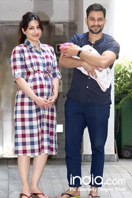 First picture of Soha Ali Khan and Kunal Khemu   s daughter Inaaya Naumi Khemu