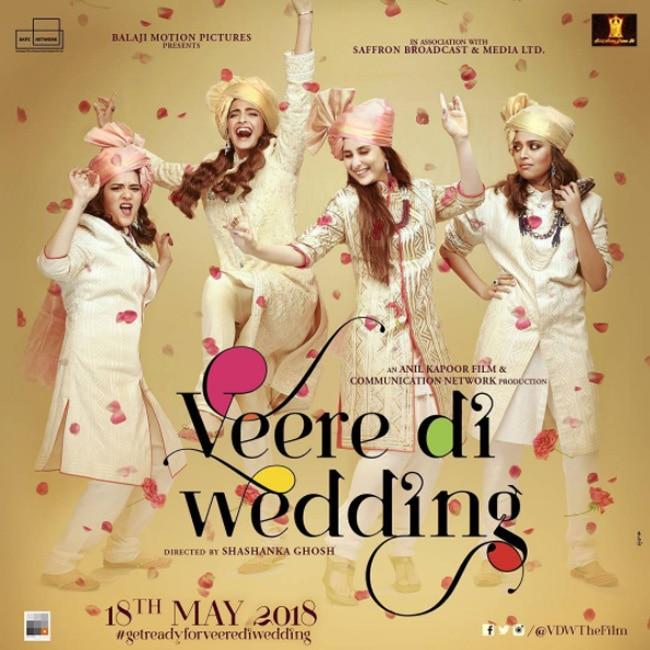 'Veere Di Wedding' poster: Kareena Kapoor Khan, Sonam