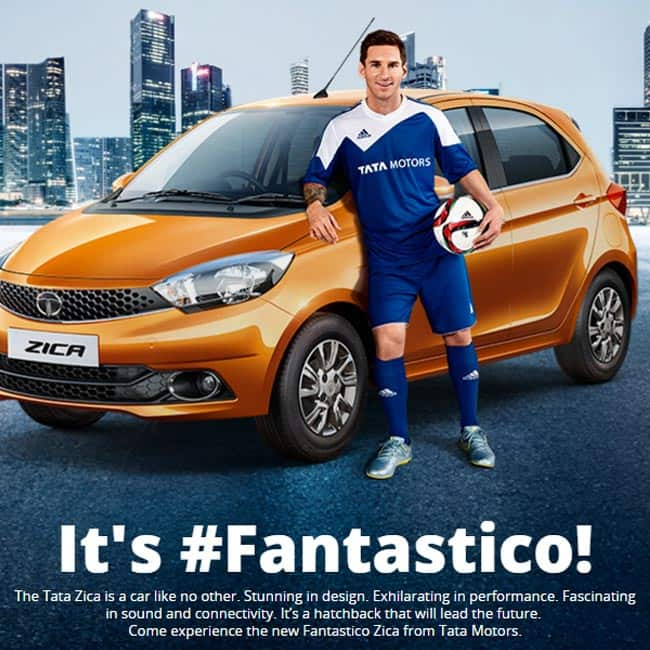 Footballer Lionel Messi to endorse Tata cars