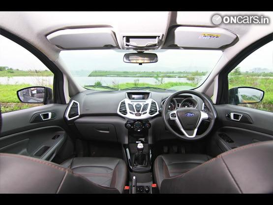 Ford EcoSport 1.5D Titanium(O) MT Interior-img1