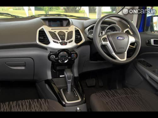 Ford Ecosport 1 5p Titanium At Interior Photos Gallery