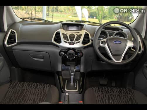 ford ecosport titanium interior images galleries with a bite. Black Bedroom Furniture Sets. Home Design Ideas