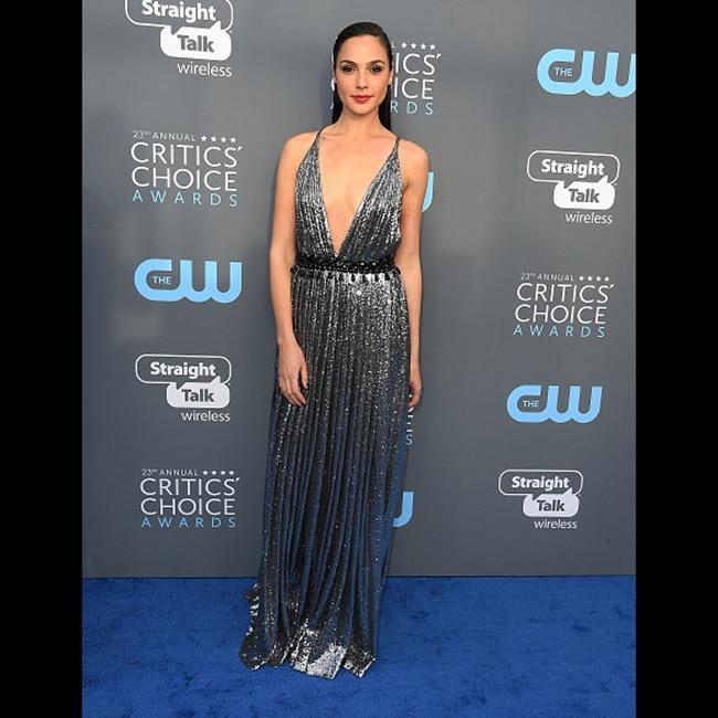 Gal Gadot at red carpet of 23rd Critics' Choice Awards