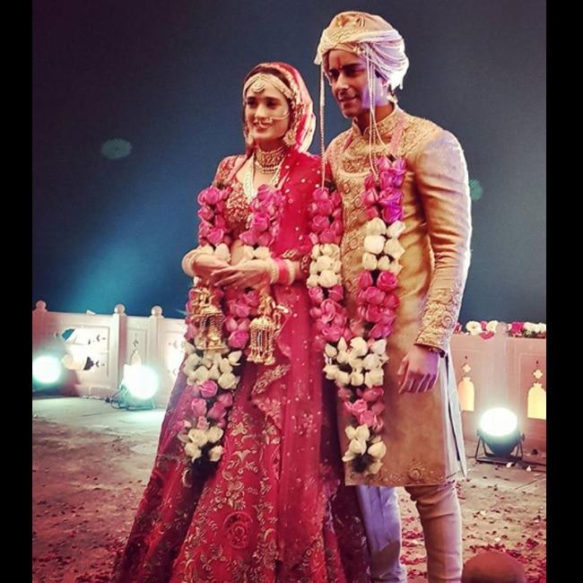 Gautam Rode with wife Pankhuri Awasthy