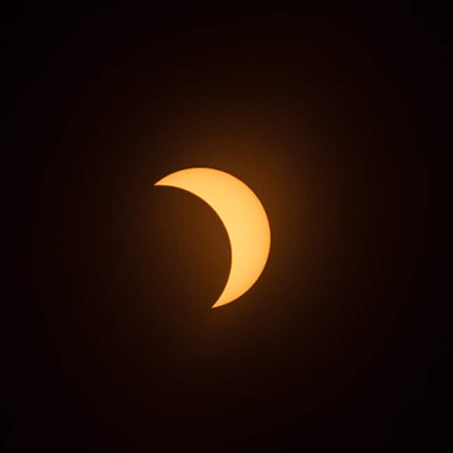 Glance of total solar eclipse 2017