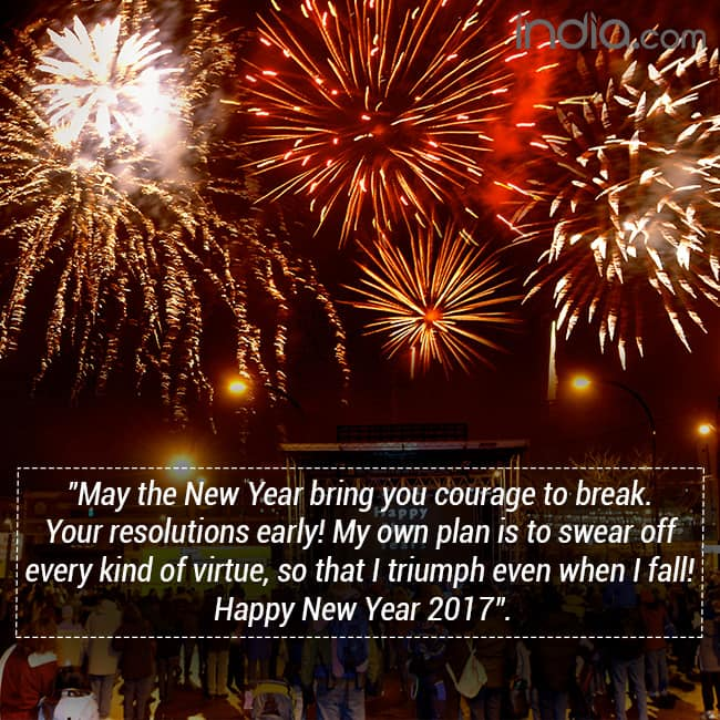 Happy New Year 2017 Quotes: New Year Wishes For Your Loved Ones