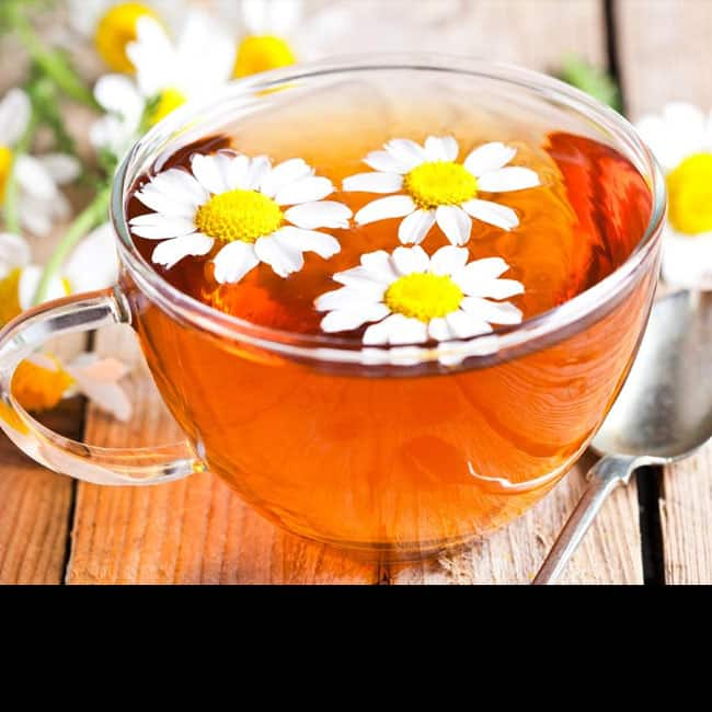 Have Chamomile tea for a healthy skin
