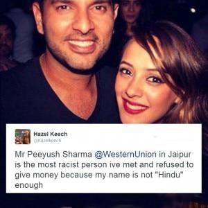 Hazel Keech faced racism, fiance Yuvraj Singh loses his temper