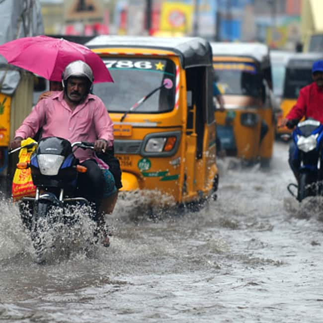 Heavy rains continue to lash parts of South India