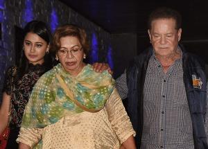 PHOTOS: Ex-bahu Malaika Arora, Iulia Vantur attend Helen Khan's birthday bash