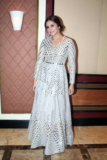 Huma Qureshi in Dolly J during Partition 1947 press conference