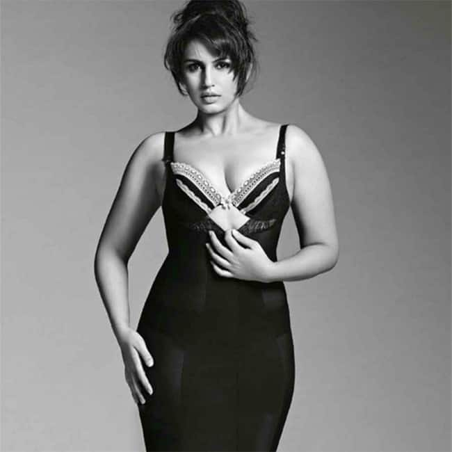 Huma Qureshi poses in hot black outfit during HD shoot