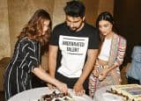 PHOTOS: Arjun Kapoor's 31st birthday celebrated with team Mubarakan, media followed by a boy's bash!