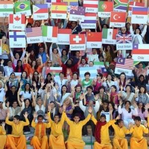 Narendra Modi addresses 29th International Yoga festival in Rishikesh through video conferencing, see pics!