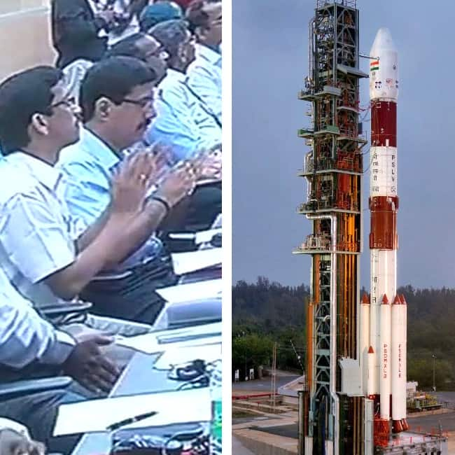 ISRO launches 100th satellite    Cartosat 2    series  from Sriharikota