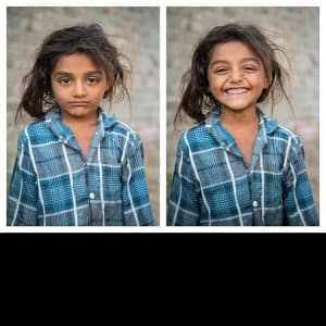 Photographer Jay Weinstein travelled through India asking strangers to smile for his clicks, see pics!