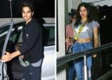Ishaan Khattar goes out on movie date with Jhanvi Kapoor and family