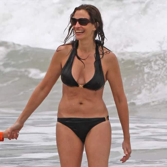 Julia Roberts Bikini And Swimwear Pictures