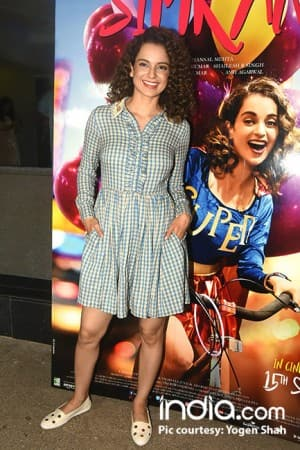 Simran special screening: No big shots spotted at Kangana Ranaut's movie screening