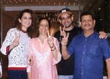 IN PICS: Kangana Ranaut celebrates the success of Simran with family