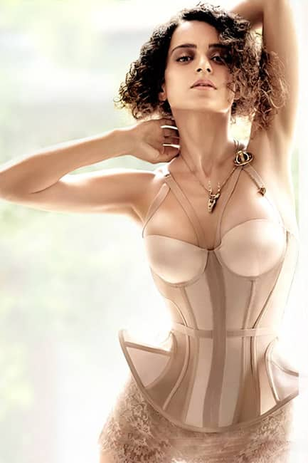 Kangana Ranaut spilling hotness in this picture