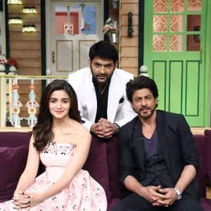 Shah Rukh Khan and Alia Bhatt promote Dear Zindagi on The Kapil Sharma Show in a humorous way!