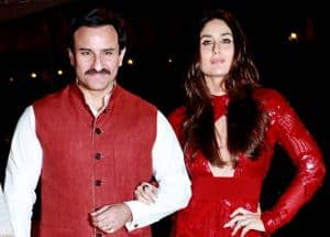 Kareena Kapoor-Saif Ali Khan's royal appearance stole a little lime light from Soha Ali Khan at her book launch