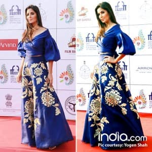 IFFI 2017 closing ceremony: Katrina Kaif, Bhumi Pednedkar, Zaira Wasim outshine dudes of Bollywood at red carpet