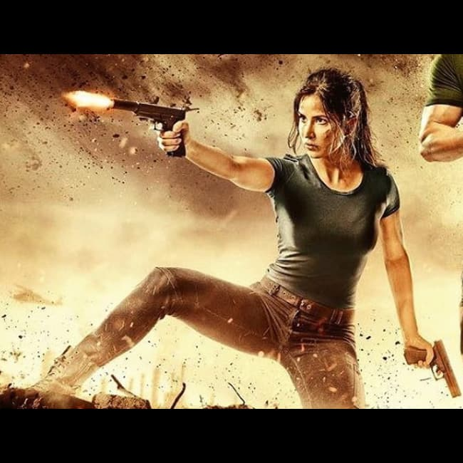 katrina kaif in action on tiger zinda hai s latest poster