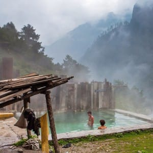 Visit these hot water springs in India to enjoy a hot dip in chilling winters
