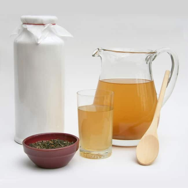 Kombucha tea for beautiful skin